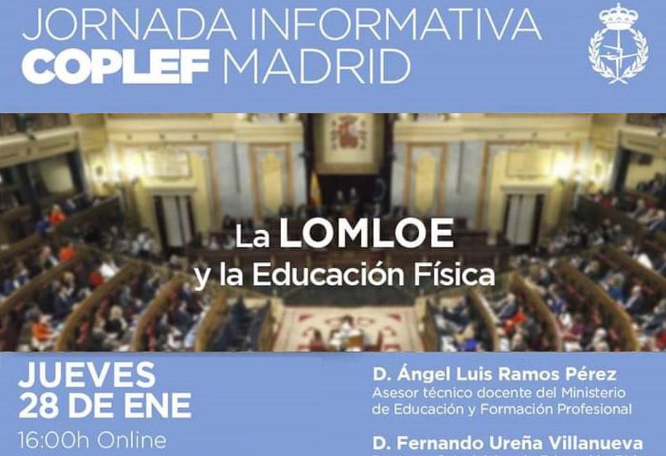 Jornada informativa : LA LOMLOE y la Educación Física