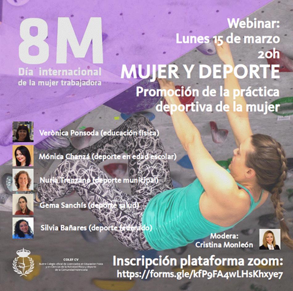 Webinar | Mujer y Deporte